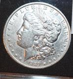 1889 Collector Coin: US Morgan Silver Dollar, Crisp Liberty, Books to $3200 in MS65