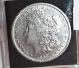 KEY Date: 1889-O US Morgan Silver Dollar, Clear Face, Full Liberty, Nice Coin,Books to $7500 in MS65