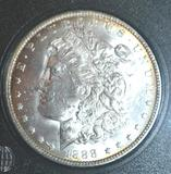 High Grade: Key Date 1888-O US Morgan Silver Dollar, Exc. Mirror Finish