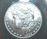Super Key Date 1902-O US Morgan Silver Dollar, Brilliant Mirror Shine