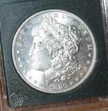 US Morgan Silver Dollar, Bright Mirror Shine