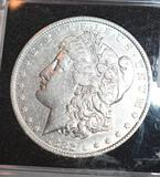 1882 US Morgan Silver Dollar, Clear Face, Crisp Full Liberty