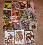 Grouping of 15 Collector Comic Books, Marvel, Deadpool and others