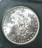 1885-O Key Date U S Morgan Silver dollar; Nice Crisp full Detail on Eagle Wings and Breast
