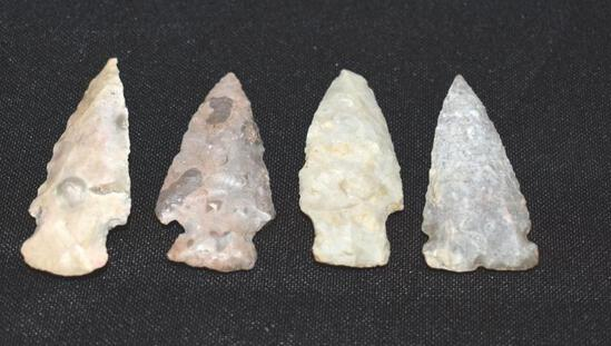 Alaskan artifacts: Arrowhead/Spearpoints Apx 2 inches