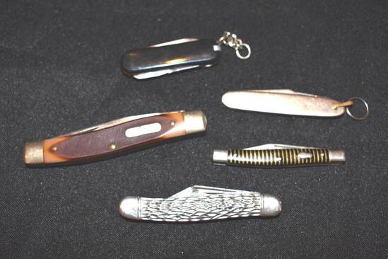 Vintage Grouping of Pocket Knives: Old Timer, Aluminum,