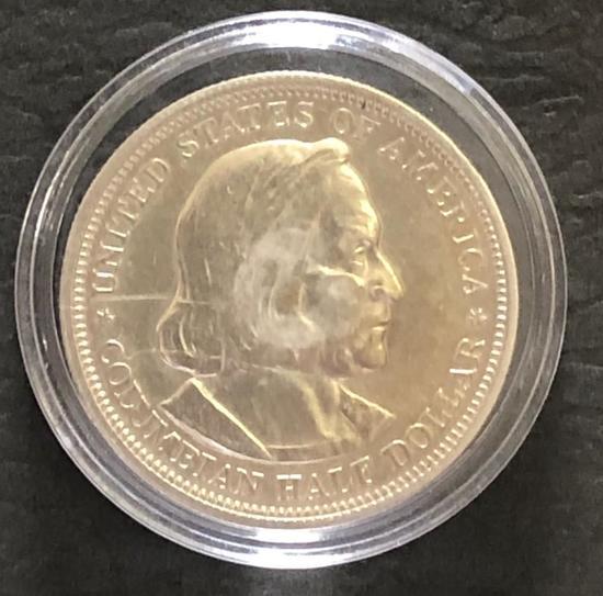 Columbian Half Dollar