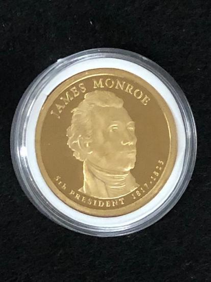 James Monroe PRESIDENTIAL $1 PROOF