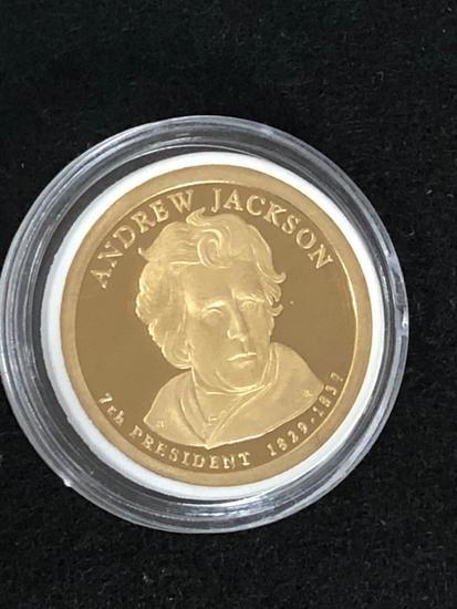 ANDREW JACKSON:  PRESIDENTIAL $1 PROOF
