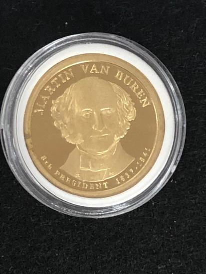 Martin Van Buren PRESIDENTIAL $1 PROOF