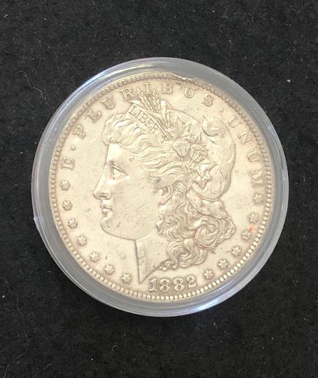 1882O Morgan Silver Dollar