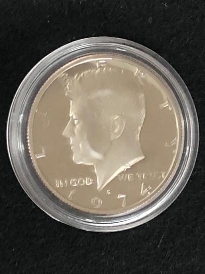 1974S PROOF KENNEDY HALF DOLLAR