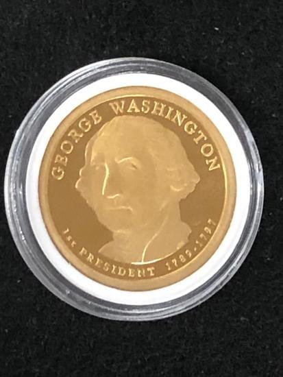 GEORGE WASHINGTON: PRESIDENTIAL $1 PROOF