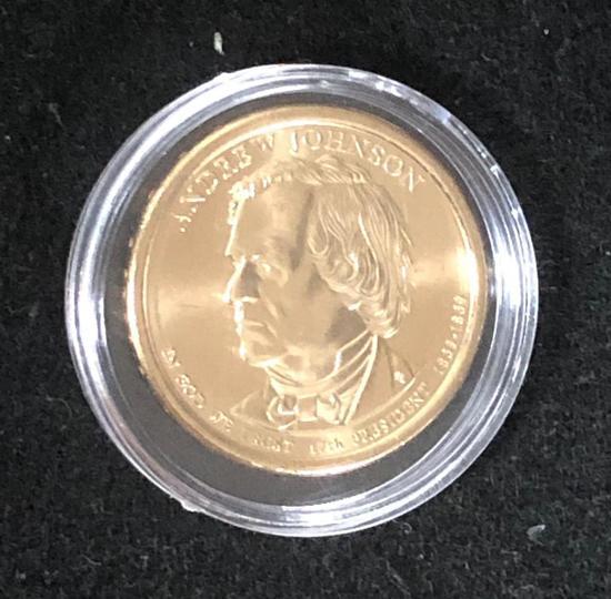 ANDREW JOHNSON: PRESIDENTIAL $1