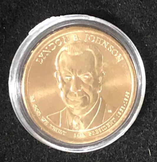 LYNDON B JOHNSON: PRESIDENTIAL $1