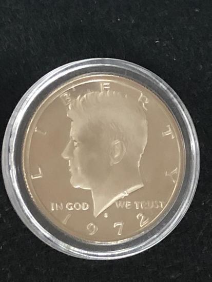 1972S PROOF Kennedy Half Dollar