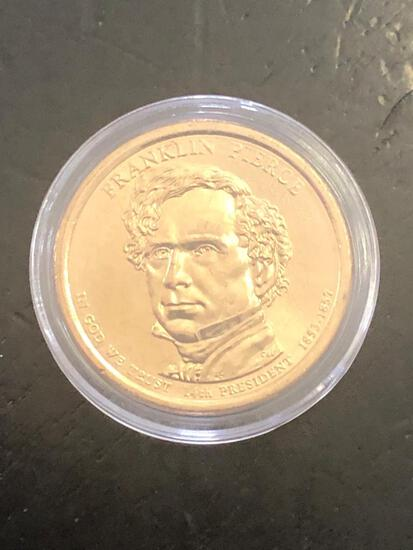 FRANKLIN PIERCE: PRESIDENTIAL $1