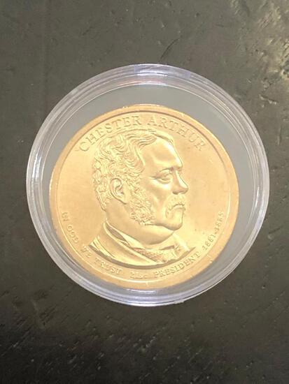 CHESTER ARTHUR: PRESIDENTIAL $1