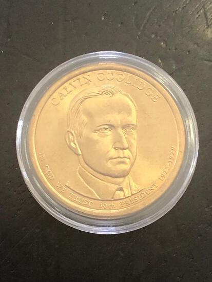 CALVIN COOLIDGE: PRESIDENTIAL $1