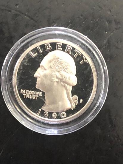1990S PROOF QUARTER