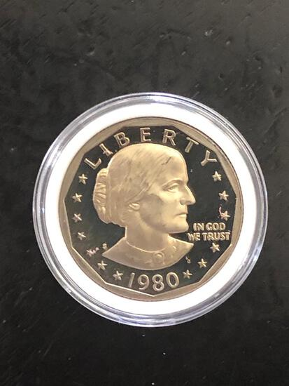 1980S Susan B Anthony Dollar