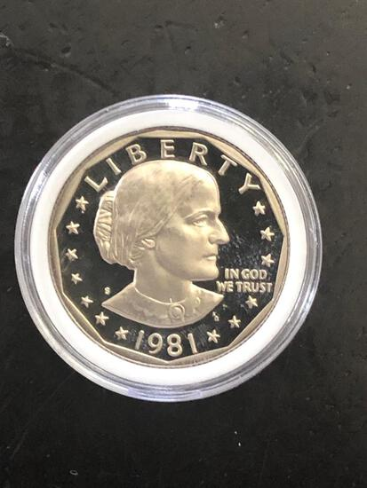 1981S Susan B Anthony Dollar