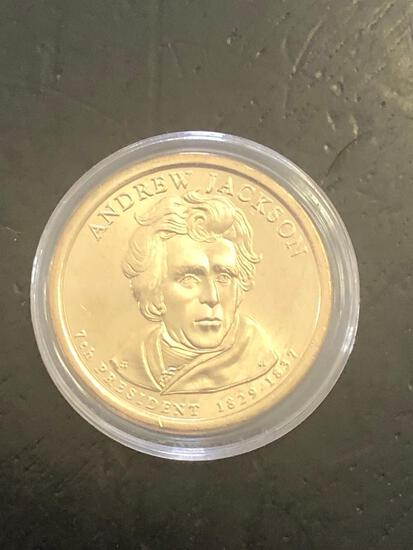 ANDREW JACKSON:  PRESIDENTIAL $1