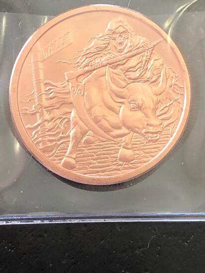 1 oz Pure Cop1 oz Pure Copper Noveltyper Novelty