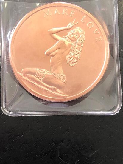 1 oz Pure Cop1 oz Pure Copper Noveltyper Novelty