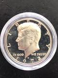 1972S PROOF KENNEDY HALF DOLLAR
