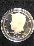 1978S PROOF KENNEDY HALF DOLLAR