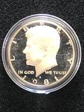 1981S PROOF KENNEDY HALF DOLLAR