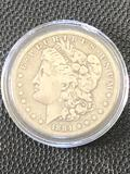 1884S Morgan Silver Dollar