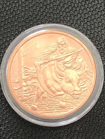 1oz Copper Round multi design