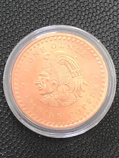 1oz Copper Round multi design