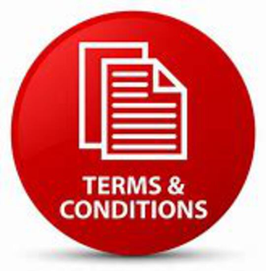 Terms and Conditions / Terms of Sale