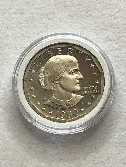 1980s Susan B Anthony Dollar