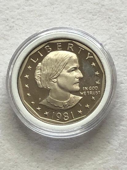 1981s Susan B Anthony Dollar