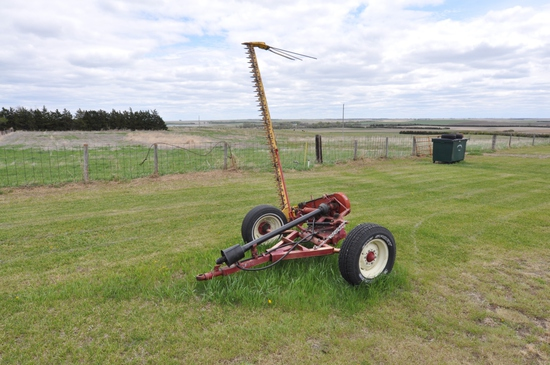 Rowse single 9' trail mower
