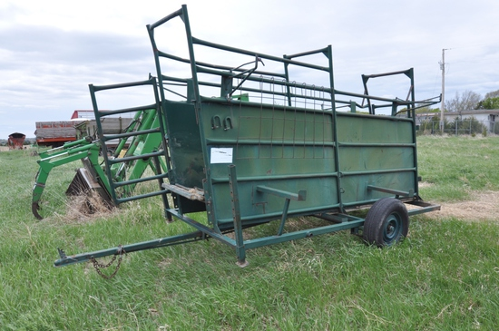 Vern's MFG panel trailer/loading chute