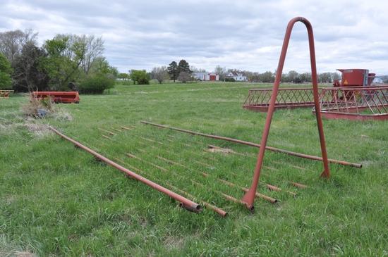 Steel Hay Hauling Rack