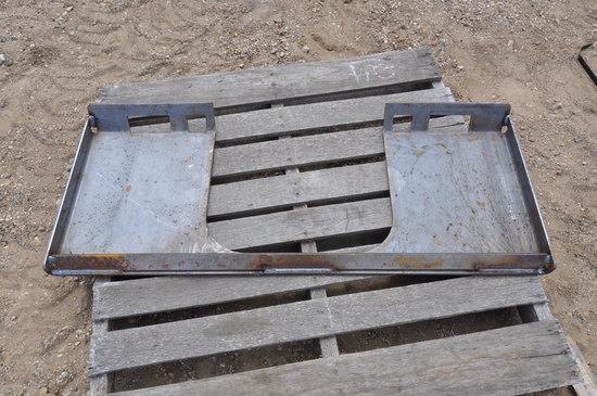 Weldable Quick Attach Plates