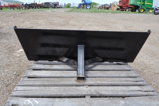 Receiver Hitch Skid Steer Trailer Movers