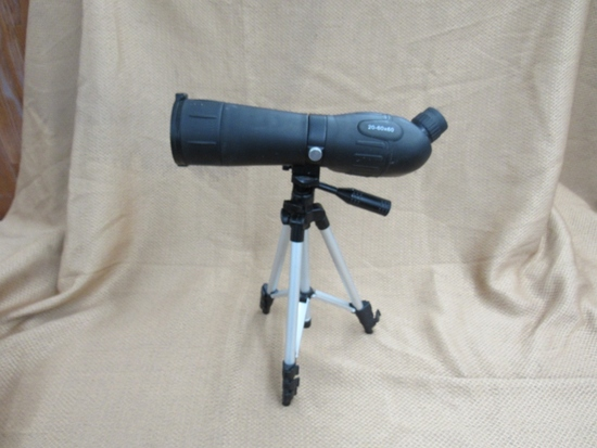 Gordon spotting scope with tripod. 20-60x60