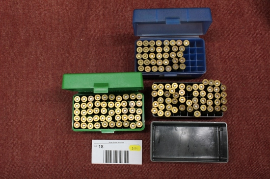 large lot of 30-30 win. reloads. approx 136 rounds.