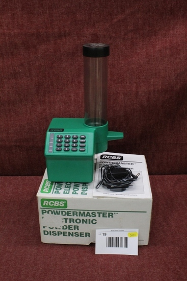 RCBS Powdermaster with box