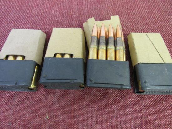24rds of 30-06 sprg with block clips, all for one money