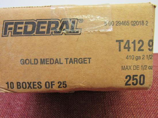Case of Federal .410ga Gold Medal Target, 10bx total