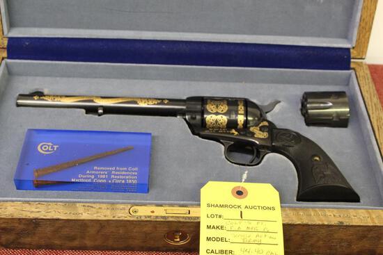 "Colt's, Single Action Army, 44-40 cal, sn: SA60678, 7.5"" brl"