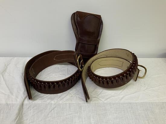 """Triple K Holsters & Belts, Triple K 740-M c45 38"""" Belt,"""